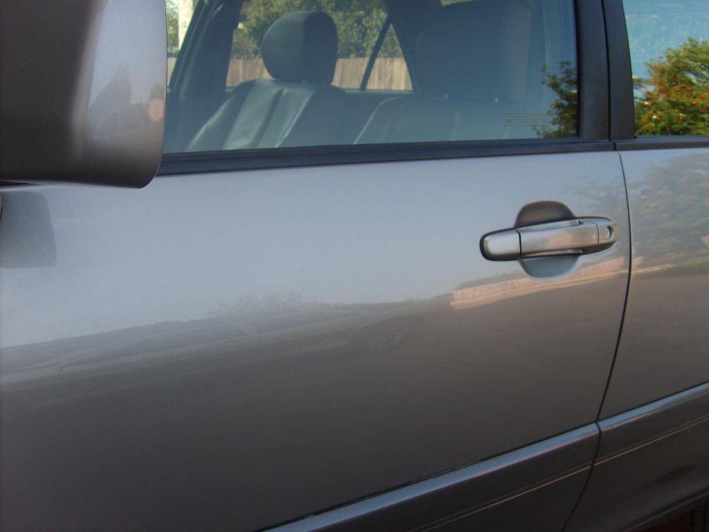 Ремонт передней водительской двери