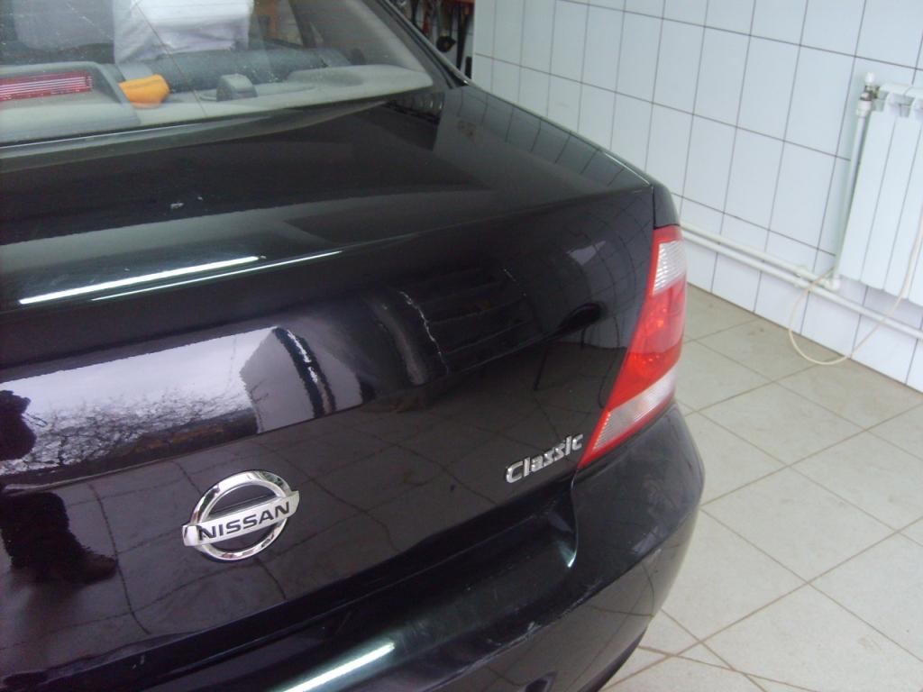 Ремонт багажника Nissan