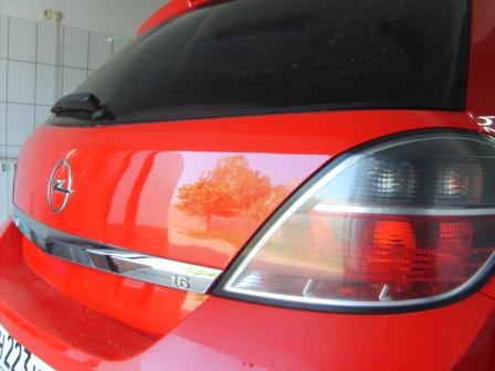Ремонт крышки багажника Opel