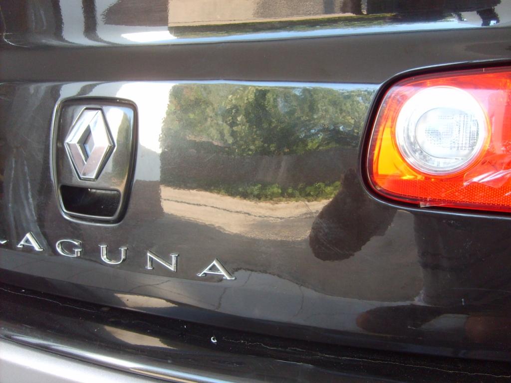 Ремонт крышки багажника Renault Laguna
